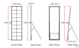 Unilumin LED Poster Dimensions